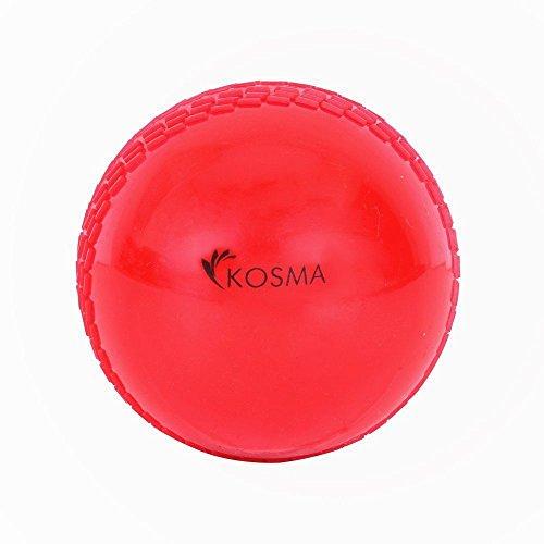 Kosma Wind Ball Cricket Ball | Soft Trainingsbälle | Sport & Outdoor - Rot