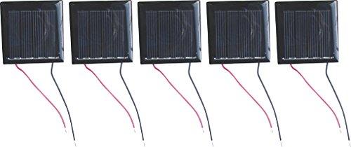 5 Solarzellen 100 mA - 2 V