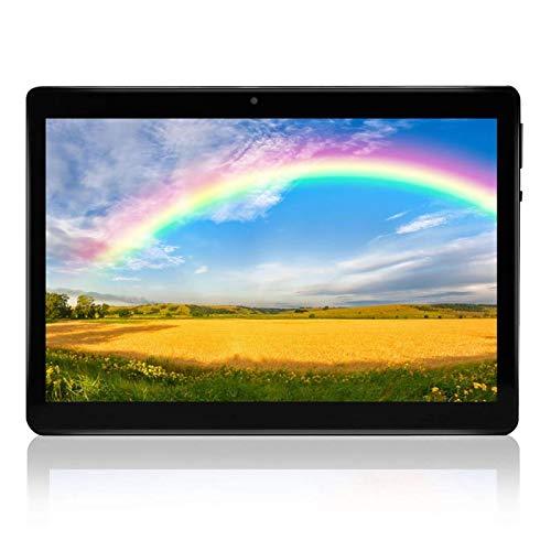 tablet con sim telefonica Tablet Android 8.0 da 10.1inch 4G Dual Sim Quad-core Carta RAM 2GB 32GB ROM WiFi Bluetooth GPS Suono Stereo con Doppio Altoparlante(nero)