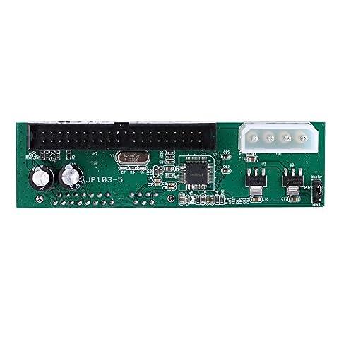 VGEBY Parallel ATA Pata IDE To Sata Serial ATA Hard Drive Converter For PC And Mac PATA TO SATA To 3.5 / 2.5 SATA Hard Disk DVD - Plug And Play
