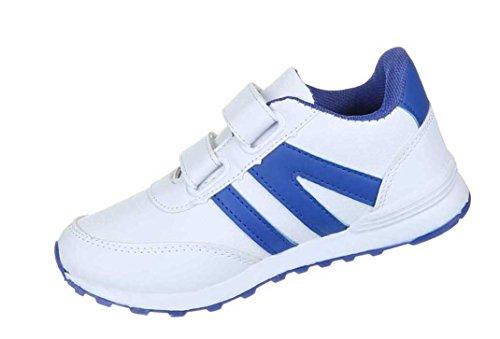 Kinderschuhe Freizeitschuhe Jungen Sneakers Mit Klett Modell Nr1Weiß KW5aUiqUtZ