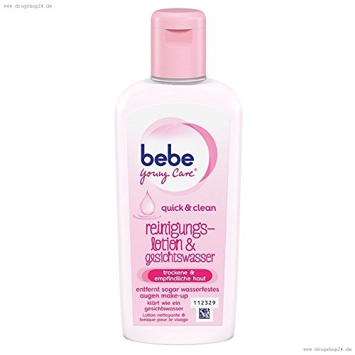BeBe Young Care quick&clean Reinigungslotion&Gesichtswasser 200ml