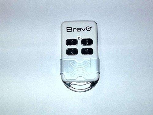Europe Net S.R.L. Bravo Télécommande universelle pour portail, auto-apprentissage, code fixe, fréquences 300 433 868 Mhz