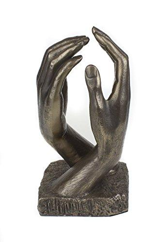 De estilo romántico con escultura de bronce fundido frío