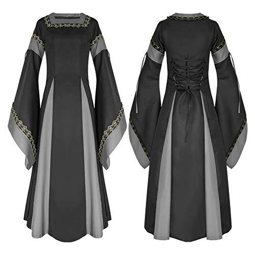 Sunbobo Halloween Retro Phantasie Cosplay Kleid Outfit Uniform -