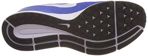 Nike Uomo Air Zoom Pegasus 34 Scarpe Da Corsa Grigio (lupo Grigio / Bianco Racer Blu)