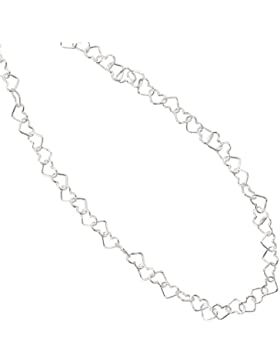 JOBO Collier Herzchen 925 Sterling Silber 36 cm