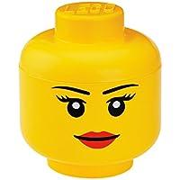 Preisvergleich für LEGO Lizenzkollektion 40321222 - Aufbewahrungskopf, L, groß, Mädchen