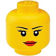 LEGO Lizenzkollektion 40321222 - Aufbewahrungskopf, L, groß, Mädchen