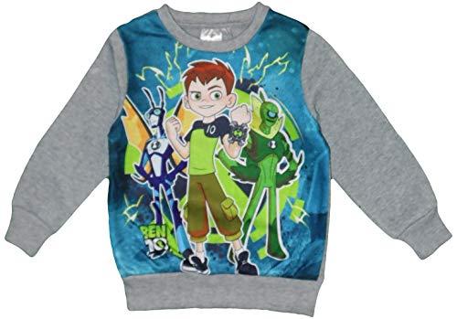 Ben 10 Kinder Langarm Sweatshirt (Grau, 3 Jahre) - Ben 10 Kleidung