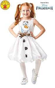 Rubies 300287 3-4 Disney Frozen 2 - Disfraz de Frozen 2, para niñas, multicolor