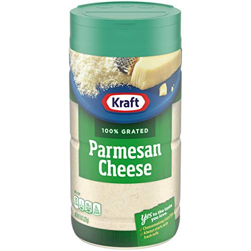Kraft Grated Cheese, 8 OZ, 227g (Parmesan)