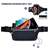 Running Armband+Running Belt Set for iPhone XR XS X 6s 7s 8s Plus