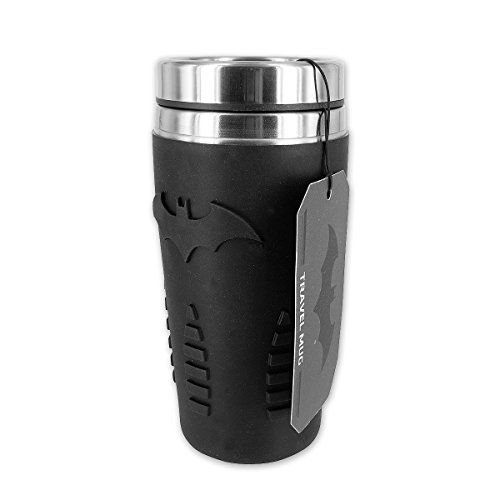 Batman-Travel-Mug-mit-Logo-aus-Silikon-Edelstahl-fr-max-470ml-Fllmenge