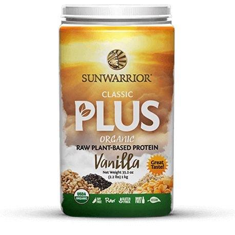SUNWARRIOR - Protéines végétales Classic PLUS Vanille