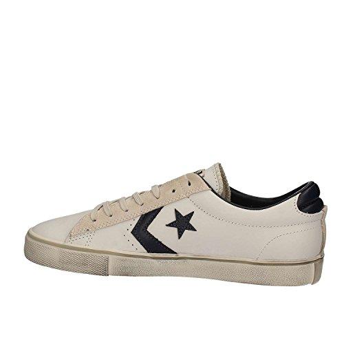 Converse Pro Leather Vulc Ox, Sneaker a Collo Basso Uomo Bianco-blu
