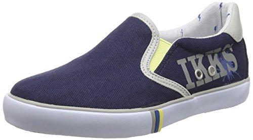 IKKS Daniel, Chaussurs Slip-On garçon Bleu (52 Ttx Bleu Dtx/Vulca)