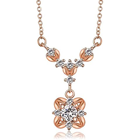 LINDA® Necklace Pendant Collar A Collar For A Horse Zircon Pendant Necklace Ms Drill Earrings Rose Gold Earrings Pendant