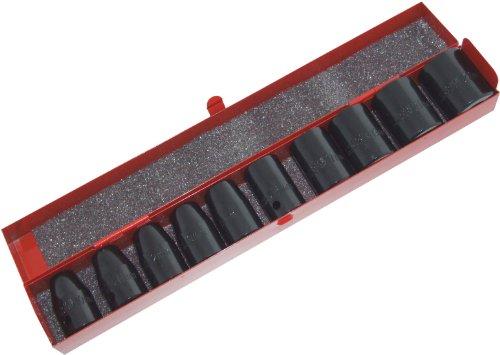 Am-Tech Lot de 10 douilles à impact en étain 12,7 mm
