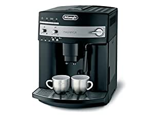 DeLonghi ESAM 3000.B Kaffee-Vollautomat (1350Watt, 1,8 Liter, 15 bar, Dampfdüse) schwarz