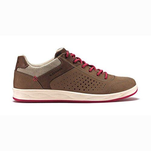 Lowa San Franzisco Ladies - Chaussure légere avec le design du sneaker pour chaque situation. Modern et confortable. Beige - Beige Pink