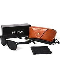 Hochwertige Polarisierte Nerd Rubber Sonnenbrille im Set (24 Modelle) Retro Vintage Unisex Brille mit Federscharnier (White-Turquoise Mirror) aGnkk1