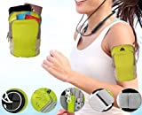RAC Sports Armband Pouch/Arm Belt - Universal Waterproof Hand Fitness Mobile Case for Running Hiking Jogging Sports & Gym Activities for All Android and iOS Mobile Phones(Up to 6.5inch)
