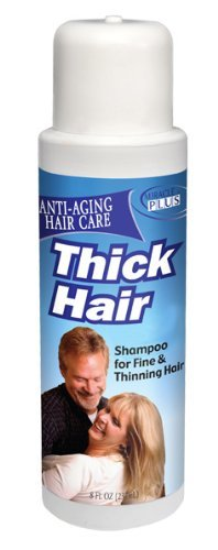 Miracle Plus Thick Hair Shampoo for Thinning Hair for Men and Women 8oz. by Miracle Plus
