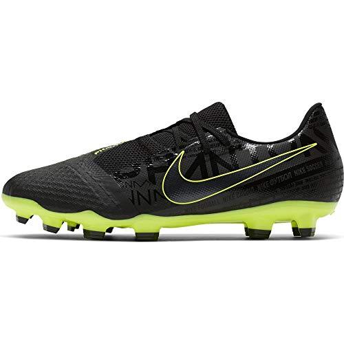 Nike Unisex-Erwachsene Phantom Venom Academy FG Fußballschuhe, Schwarz Black-Volt 007, 42.5 EU
