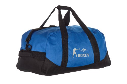 Kindertasche blau/schwarz Boxen