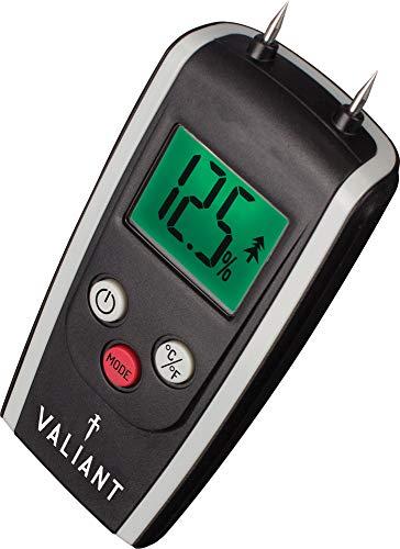 Valiant FIR421Valiant digitale misuratore di umidità per legna da ardere/legno e muratura-nero