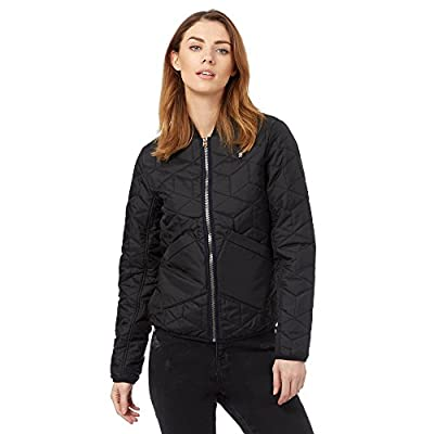 G-Star Womens Black Quilted Bomber Jacket from G-Star