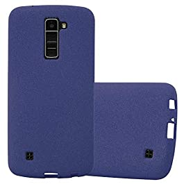 Cadorabo Case works with LG K10 2016 TPU Silicone Cover