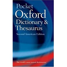 The Pocket Oxford Dictionary and Thesaurus (2002-05-07)