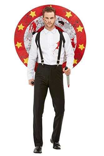 Messerwerfer Kostüm - Horror-Shop Messerwerfer Zirkus Deluxe Kostüm für