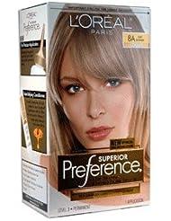 loreal preference couleur des cheveux blond cendr - Coloration Blond Cendre