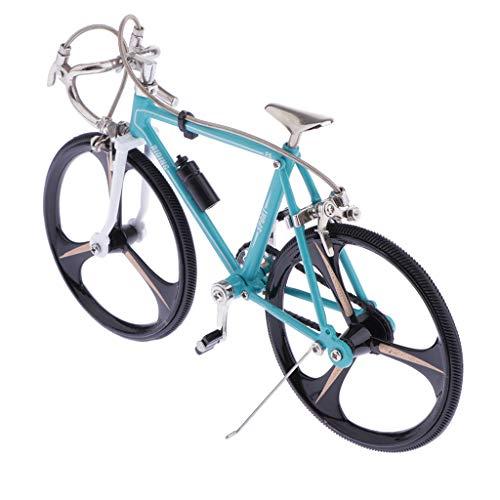 CUTICATE Bicicletta da Corsa in Lega di Zinco A Scatto Fisso per Bici Mini Modello Cool Boy Artigianato per Regali per La Decorazione Dell'ufficio sul Posto di - Un