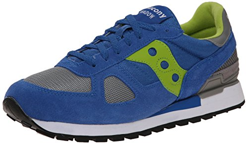 Saucony Originals Shadow Herren Sneakers Blue / Bright Green