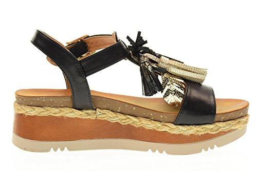 GOLD&GOLD scarpe donna sandali DS56 NERO Nero