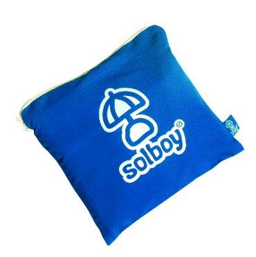 SOLBOY - Der Sonnenschirmhalter, innovativer Schirmständer für den Strandschirm (SONDEREDITION BLAU). Hochwertige… von Solboy - Innovative Gadgets für den Strand - Gartenmöbel von Du und Dein Garten