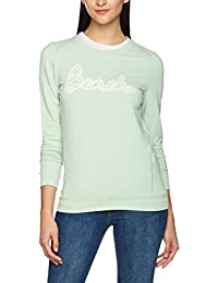 Bench Women's Crew Neck Hole Embro Jumper