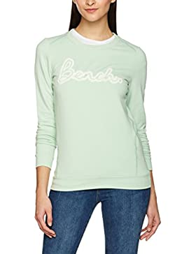 Bench Crew Neck Hole Embro, Jersey para Mujer