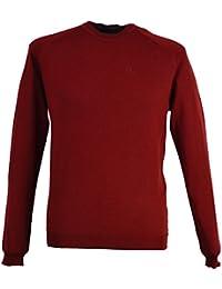 Calvin Klein - Gilet -  Homme Rouge Rouge