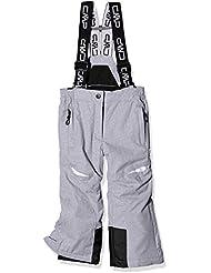 CMP Pantalón de Esquí para Niña, color Plata (U403), talla 176
