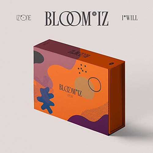 IZ*One IZONE - BLOOM*IZ (Vo.1) Album+Folded Poster+Extra Photocards Set (I*WAS ver.)