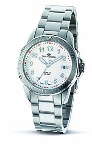 Philip Watch R8253194045 - Reloj analógico de cuarzo para mujer con correa de acero inoxidable, color plateado de Philip Watch