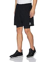 Reebok Mens Shorts (4058024284599_BR2055_S_BLACK)
