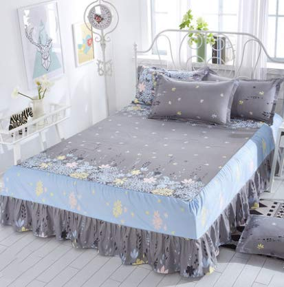 Scattered Flower Pattern Simmons Bed Cover Bed