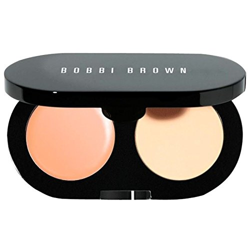 Bobbi Brown Kit Anti-Cernes Crème Bronzage Naturel / Jaune Pâle Poudre - Pack De 6