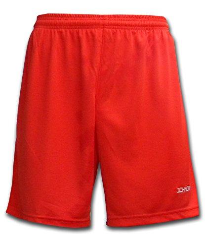 Ichnos teamwear soccer football team kit adult red shorts  L